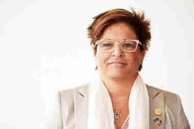 Porträttbild på Sineva Ribeirio, förbundsordförande.