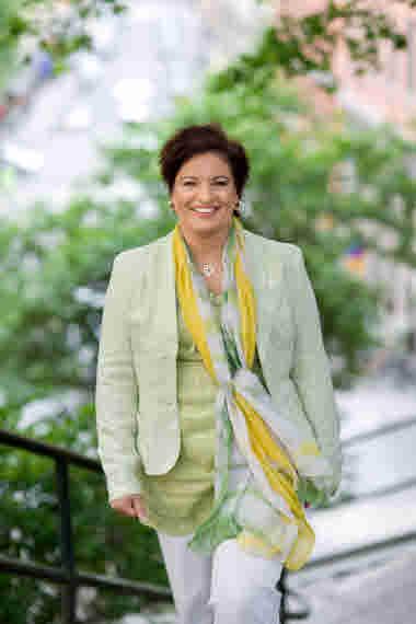 Sineva Ribeiro, förbundsordförande Vårdförbundet.