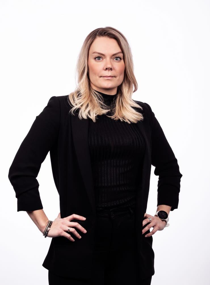 Nadja Ståhl, ordförande Vårdförbundet Student
