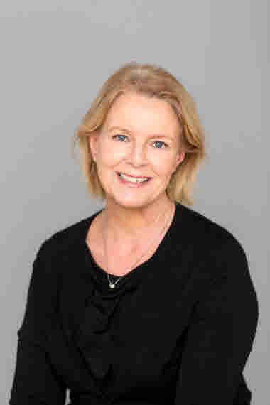 Porträttbild på Annelie Söderberg, förhandlingschef på Vårdförbundet.