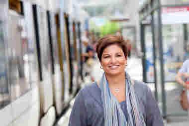 Sineva Ribeiro, förbundsordförande för Vårdförbundet