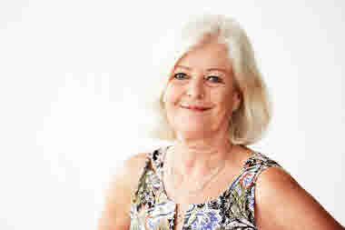 Porträttbild på Ann Johansson, vice ordförande.