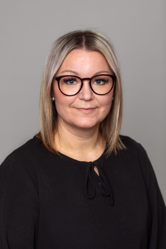 Anna Bergström, avdelningsordförande Gävleborg
