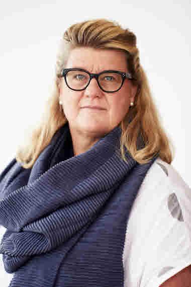 Porträttbild på Jane Stegring, ledamot.