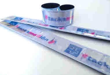 Reflex i Medlemsbutiken, #tackamedlön, reflexband, slap wrap, synas