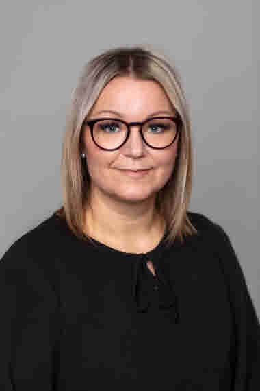 Anna Bergström, avdelningsordförande Gävleborg