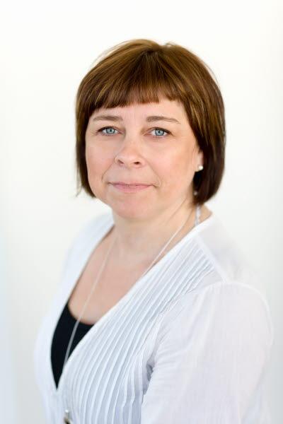 Porträttbild på Annika Wåhlin, förbundsstyrelseledamot.