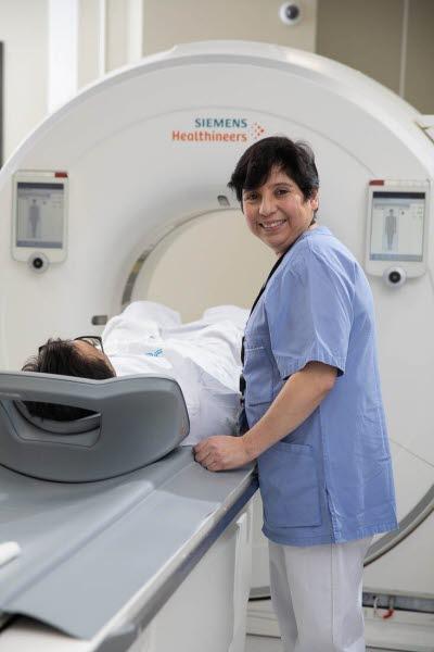 Jacqueline Diaz, röntgensjuksköterska. Årsberättelsen 2019.