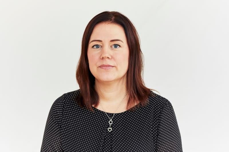 Porträttbild på Catrin Johansson, ledamot.